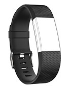 cheap Smartwatch Bands-Watch Band for Fitbit Charge 2 Fitbit Modern Buckle Silicone Wrist Strap