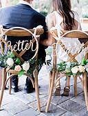 رخيصةأون طرحات الزفاف-زفاف خشبي زينة الزفاف الحديقةGarden Theme / كلاسيكيClassic Theme كل الفصول
