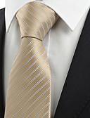 abordables Relojes de Lujo-Hombre Corbata - Fiesta A Rayas