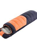 رخيصةأون ساعات جيش-Shamocamel® حقيبة النوم في الهواء الطلق -10~5 °C حقيبة مستطيلة ريش البط السفلي مقاوم للماء / الدفء / خفيف جدا (UL) إلى التخييم والتنزه خريف / شتاء