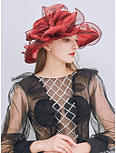 cheap Fashion Hats-Women's Cute Sun Hat - Solid Colored Lace Bow