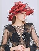 abordables Sombreros de mujer-Mujer Encaje / Lazo Sombrero para el sol Un Color / Bonito / Tejido