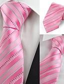 זול עניבות ועניבות פרפר לגברים-עניבת צווארון - פסים מסיבה עבודה בגדי ריקוד גברים
