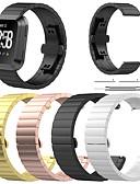 זול להקות Smartwatch-צפו בנד ל Fitbit Versa פיטביט פרפר באקל מתכת אל חלד רצועת יד לספורט
