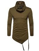 povoljno Muške majice i potkošulje-Majica s rukavima Muškarci - Osnovni Dnevno / Izlasci Jednobojni Dolčevita Slim / Dugih rukava