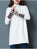 tanie T-shirt-Koszula Damskie Aktywny Bawełna Solidne kolory