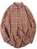 ieftine Tricou Bărbați-Bărbați Cămașă De Bază Șic Stradă - Bloc Culoare