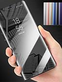 זול מגנים לטלפון-מגן עבור Huawei P10 Plus / P10 Lite / P10 עם מעמד / מראה כיסוי מלא אחיד קשיח PC