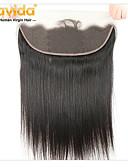 ieftine Quartz-Yavida Păr Malayezian 4x13 de închidere Drept Partea gratuit Dantelă Elvețiană Păr Virgin Toate Cu părul copiilor / Moale / Mătăsos Cadouri de Crăciun / pentru Femei de Culoare