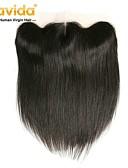 ieftine Quartz-Yavida Păr Peruvian 4x13 de închidere Drept Partea gratuit Dantelă Elvețiană Păr Natural Toate Cu părul copiilor / Moale / Mătăsos Nuntă / Cadou / pentru Femei de Culoare