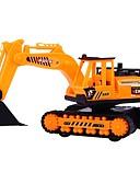 abordables Relojes de Moda-Vehículo de construcción Camiones y vehículos de construcción de juguete 1: 8 Simulación Interacción padre-hijo El plastico 1 pcs Niños Chico Chica Juguet Regalo