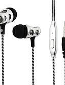 baratos Moda Sensual Feminina-LS3B141A No ouvido Cabo Fones Dinâmico Acryic / poliéster Esporte e Fitness Fone de ouvido Fone de ouvido