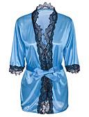 זול בגדי שינה והלבשה תחתונה לנשים-בייבידול וכותנות Nightwear בגדי ריקוד נשים - תחרה, אחיד