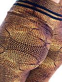 olcso Leggingek-Női Alap Legging - Leopárd Közepes csípő