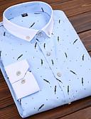 ieftine Tricou Bărbați-Bărbați Cămașă De Bază - Dungi / Geometric