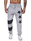 ieftine Pantaloni Bărbați si Pantaloni Scurți-Bărbați De Bază Pantaloni Sport / Pantaloni Chinos Pantaloni Geometric