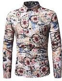 ieftine Pantaloni Bărbați si Pantaloni Scurți-Bărbați Cămașă Punk & Gotic Șic Stradă - Floral Plisat