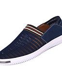 זול חולצות לגברים-בגדי ריקוד גברים טול קיץ נוחות נעליים ללא שרוכים אפור / כחול