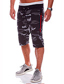 cheap Men's Tees & Tank Tops-Men's Basic Shorts Pants - Camouflage