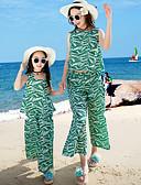 preiswerte Hosen & Leggings für Mädchen-Erwachsene / Kinder Mädchen Paisley-Muster Ärmellos Tank Top & Leibchen