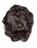 tanie Bielizna i skarpety męskie-Męskie Włosy naturalne Tupeciki Falisty Łatwy do przenoszenia / Nowy przyjazd / Gorąca wyprzedaż / 100% ręcznie związana