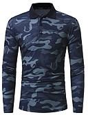 ieftine Maieu & Tricouri Bărbați-Bărbați Tricou De Bază - camuflaj Imprimeu
