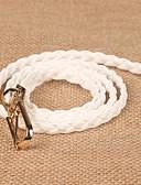 رخيصةأون أحزمة موضة-حزام خصر لون سادة قماش نسائي, رياضي Active / أساسي