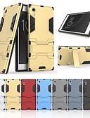 povoljno Maske za mobitele-Θήκη Za Sony Sony Xperia XA1 sa stalkom Stražnja maska Jednobojni Tvrdo PC