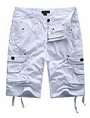 abordables Pantalones para Mujer-Hombre Militar Shorts Pantalones - Un Color