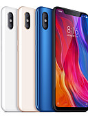 "رخيصةأون البدل-Xiaomi Mi8 6.21 بوصة "" 4G هاتف ذكي (6GB + 128GB 12 + 12 mp Snapdragon 845 3400 mAh mAh)"