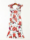 povoljno Ženske haljine-Žene Izlasci Korice Haljina S naramenicama Midi