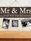tanie Kwarcowy-Drewniany 1 x pokrowiec Ceremonia Dekoracji - Ślub Ślub