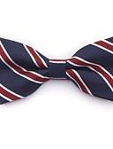 ieftine Cravate & Papioane de Bărbați-Bărbați Dungi / Bloc Culoare / Peteci Petrecere / De Bază, Bumbac / Poliester - Papion Cravată / Toate Sezoanele