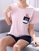 ieftine Robe & Pijamale-Pentru femei În U Costume Pijamale Floral