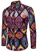 ieftine Tricou Bărbați-cămașă pentru bărbați - guler geometric pentru cămașă