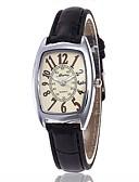 זול קווארץ-בגדי ריקוד נשים שעון יד קווארץ כרונוגרף שעונים יום יומיים חמוד עור להקה אנלוגי צמיד מינימליסטי שחור / לבן / אדום - שחור סגול אדום שנה אחת חיי סוללה