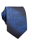 cheap Men's Ties & Bow Ties-Men's Work / Basic Cotton / Polyester Necktie - Striped / Color Block / All Seasons