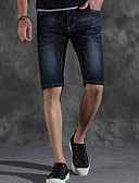 tanie Koszulki i tank topy męskie-Męskie Moda miejska Krótkie spodnie Spodnie Jendolity kolor