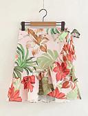 cheap Women's Shirts-Women's Going out A Line Skirts - Floral High Waist
