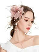 povoljno Ukrasi za kosu-Žene Kentucky Derby Vintage Elegantno Tekstil Kubični Zirconia Šeširi Vjenčanje Party - Jednobojni / Sva doba