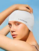 abordables Trajes acuáticos y camisetas antierupciones-Gorros de Natación Silicona Impermeable, Suave, Eslático Natación para Adultos
