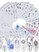 preiswerte Damen Socken & Strumpfwaren-40 pcs Künstliche Nagelspitzen Nagel-Kunstformen Nagel-Kunst-Kit Nagel Kunst Maniküre Pediküre Modisches Design / Kreativ Nagel-Aufkleber Freizeitskleidung / Nagelschmuck