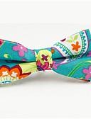 ieftine Cravate & Papioane de Bărbați-Bărbați Floral / Bloc Culoare / Peteci Funde Petrecere / De Bază, Bumbac / Poliester - Papion Cravată / Toate Sezoanele