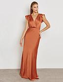 cheap Women's Dresses-BENEVOGA Women's Street chic / Sophisticated Sheath / Swing Dress - Solid Colored Backless / Ruffle