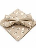 olcso Férfi nyakkendők és csokornyakkendők-Férfi Virágos / Jacquardszövet Csokor Vintage / Party - Csokornyakkendő
