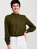 זול מכנסיים ושורטים לגברים-עומד סגנון רחוב מידות גדולות חולצה - בגדי ריקוד נשים / אביב / קיץ