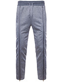 ieftine Pantaloni Bărbați si Pantaloni Scurți-Bărbați De Bază Pantaloni Chinos / Pantaloni Sport Pantaloni Mată