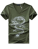 ieftine Maieu & Tricouri Bărbați-Bărbați Tricou Șic Stradă - Animal
