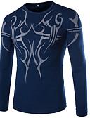 お買い得  メンズTシャツ&タンクトップ-男性用 プリント Tシャツ グラフィック