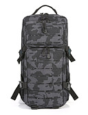 cheap Men's Tees & Tank Tops-35 L Hiking Backpack - Wearable, Breathability Outdoor Camping, Military, Travel Oxford Black